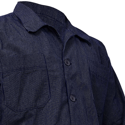 7.5 OZ Rigid 100% Organic Cotton Indigo